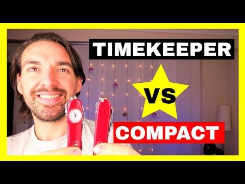 Victorinox Compact vs Timekeeper