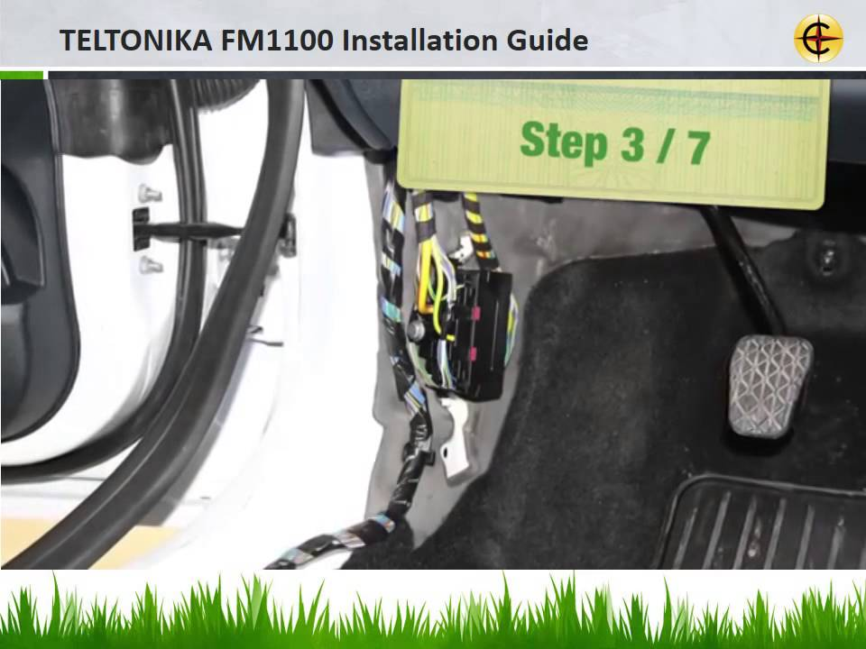 Teltonika FM1100 Installation Guide HD