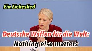 Deutsche Waffen für die Welt: Nothing else matters