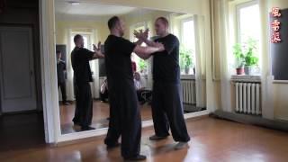 Внутренние усилия в прикладной технике тайцзицюань Ветер-Гром