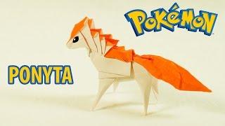 POKEMON - Origami Ponyta Tutorial (Henry Pham)