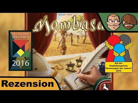 Mombasa (Deutscher Spielepreis 2016) - Brettspiel - Review