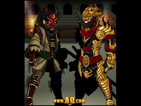 AQW Fastest Way to Earn Dragon Shinobi Class (Dragon Shinobi Tokens Guide)