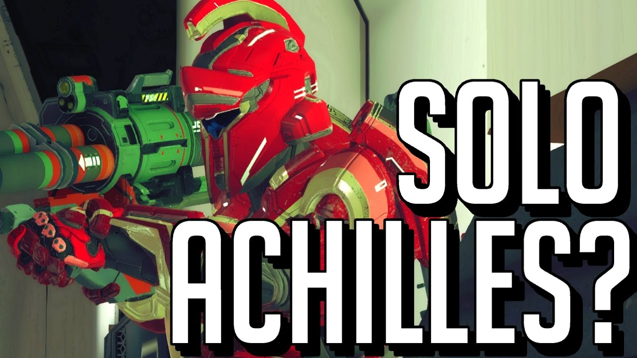 How to Get The Achilles Armor Alone (Halo 5 Guardians)