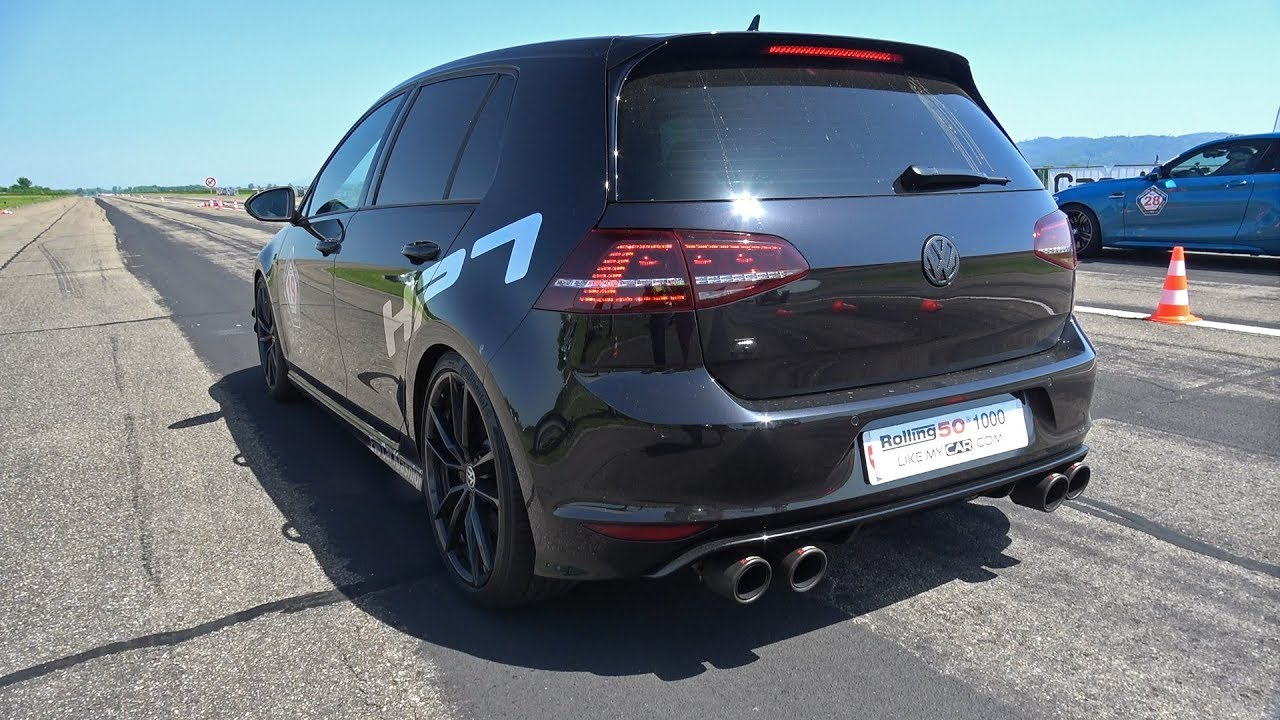 volkswagen golf 7 r hpt stage 2 with akrapovic exhaust. Black Bedroom Furniture Sets. Home Design Ideas