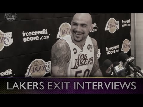 2013-lakers-exit-interviews:-robert-sacre-highlights