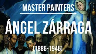 Ángel Zárraga (1886-1946) A collection of paintings 4K Ultra HD