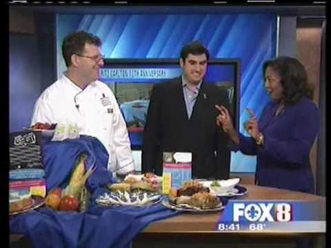Jacques Rodrigue and Chef Matt Murphy TV Interview WVUE FOX 8