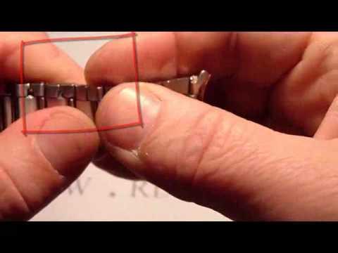 b1e187a90f54ef Skracanie bransolety męskiej Casio Orient Bisset Adriatica stalowa.flv -  YouTube