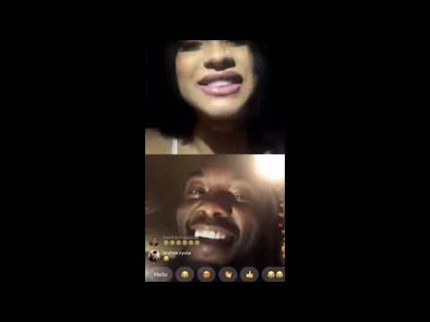 Cardi B and Offset get wild on Instagram Live