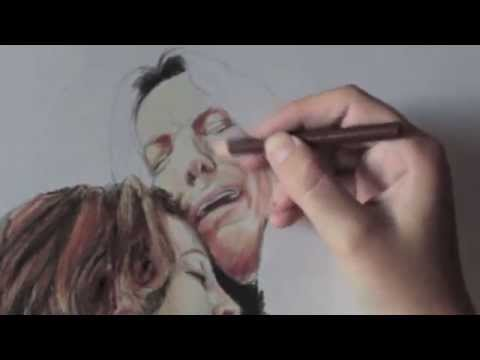 Severus e Lily  Speed Drawing