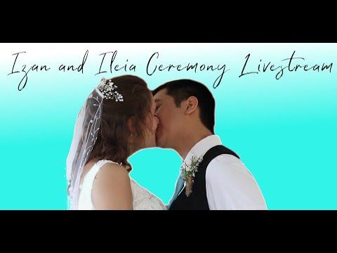 Izan And Ileia Rodriguez Ceremony Livestream