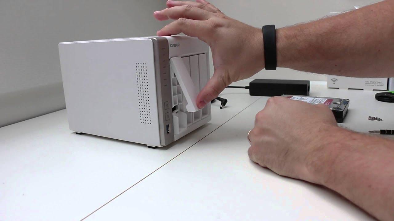 Tutorial: QNAP TS 451 HDD Installation
