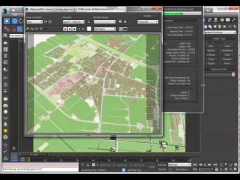 Openstreetmap importer for 3dsMax