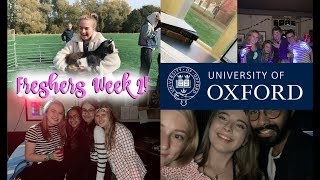 OXFORD UNIVERSITY FRESHERS WEEK PART 2! TOO MUCH WORK?!?