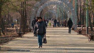 Бульвар Вали Максимовой в Бийске официально открыт после ремонта (01.11.19г., Бийское телевидение)