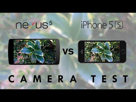 Nexus 5 vs iPhone 5s - Camera Test Comparison