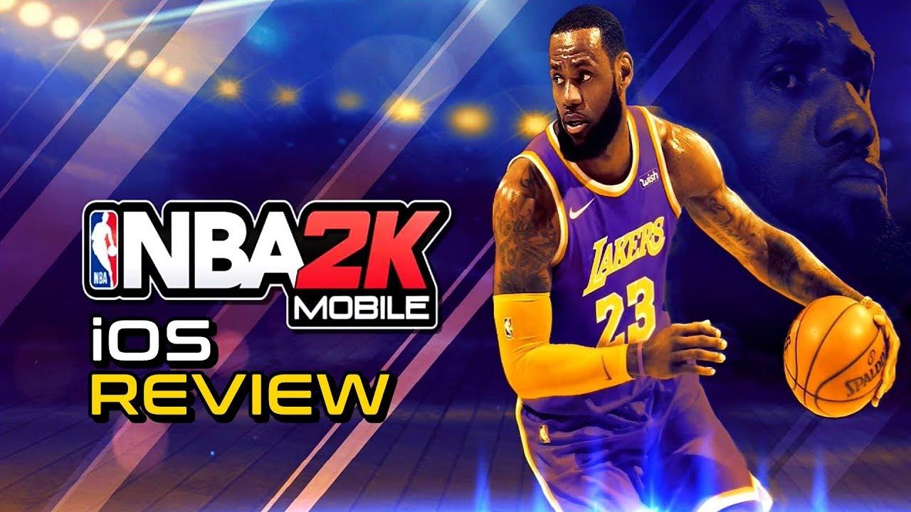 Review: NBA 2K Mobile Basketball