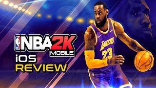 NBA 2K Mobile Is the Perfect Basketball Game to Play on the Go