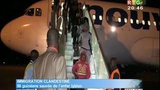 www.guineesud.com - RTG du 15 mars 2017 - Conakry : retour des immigrés de la Libye