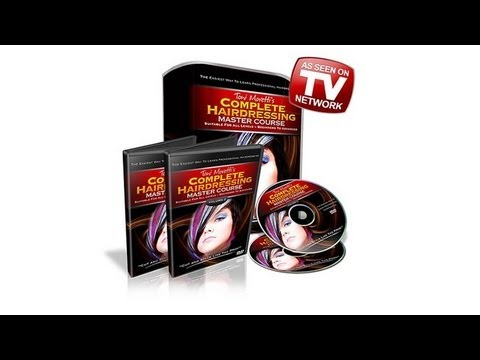 Hairdressing Mastercourse 2 DVD Set - Haircuts, Hairstyling Courses and Hairdressing Training