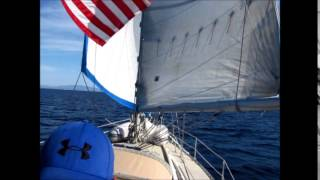 S/V Southern Cross ep.6 - Sailing Offshore of San Diego, CA