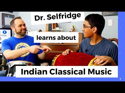 Dr. Selfridge Learns Indian Mridangam Drum