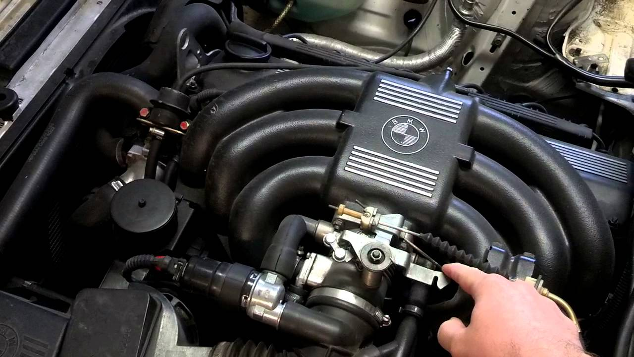 1988 Bmw 325i E30 Rough Idle Youtube