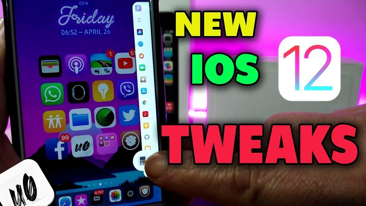 Top New Jailbreak Tweaks for iOS 12 - 12 1 2!