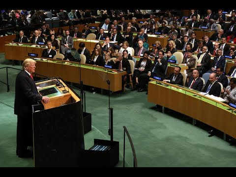 President Donald Trump Addresses The United Nations