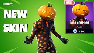 NEW PUMPKIN HEAD JACK GOURDON SKIN IN FORTNITE ITEM SHOP