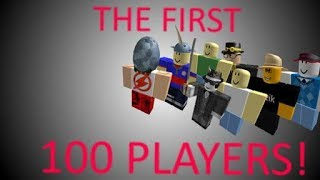 100 First Users In Roblox (BANNED USERNAMES IN DESCRIPTION)