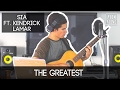The Greatest by Sia ft. Kendrick Lamar | Alex Aiono Cover video & mp3