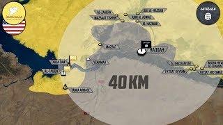 11 мая 2017. Военная обстановка в Сирии. Курдские силы выбили ИГИЛ из Табки. Русский перевод.