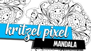 How to Mandala + Clip Studio Paint ★ KRITZEL PIXEL | Tutorial