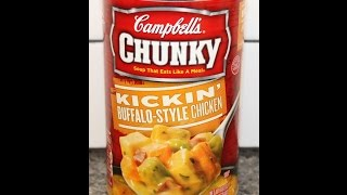 Campbell's Chunky Soup: Kickin' Buffalo-style Chicken Review