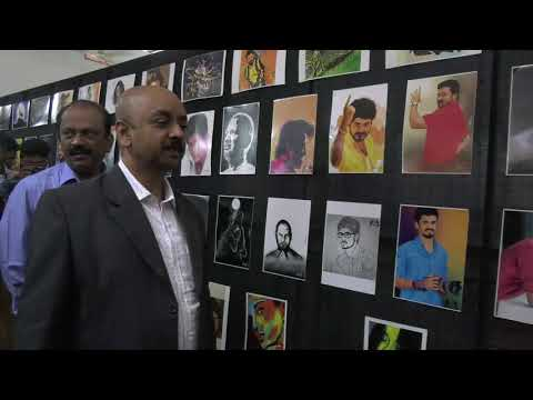 Art Exhibition | 2k18|viscom department |American College |Madurai