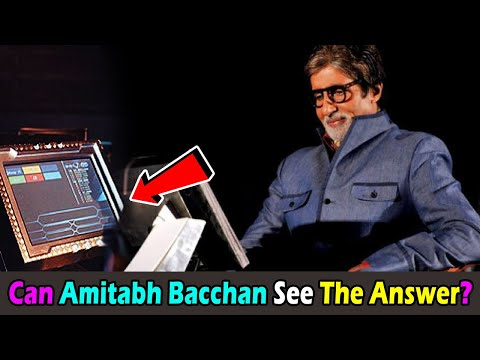 Can Amitabh Bacchan See The answer of Each Question on Computer Screen asked in KBC Mp3