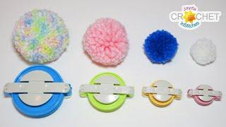 How To Make POMPOMS with Clover Pompom Makers!