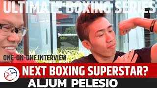 The Next Boxing Superstar? Finalist ALJUM PELESIO | Swerte Lang Na Umabot sa Finals ? | UBS