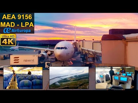 FLIGHT EXPERIENCE | Madrid - Gran Canaria | AIR EUROPA A330