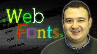 Web Fonts - Computerphile