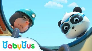 Kumpulan Film Bayi Panda | Pipa Gas Bocor | kartun Anak | BabyBus Bahasa Indonesia