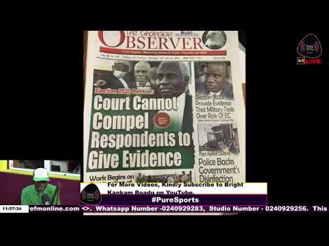 Hilarious! News Paper Headlines: The Ghanaian Observer.