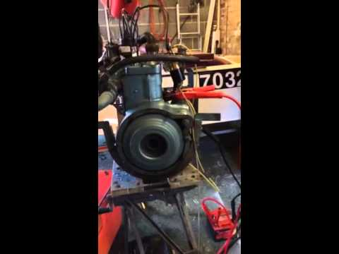E93A sidevalve marine engine