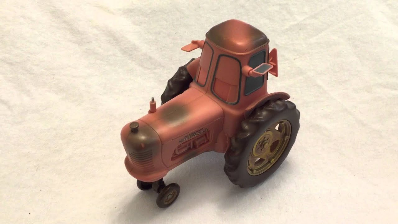 Disney Cars Chewall Holstein Heifer Tractor Tip And Toot Tippin Sounds Youtube