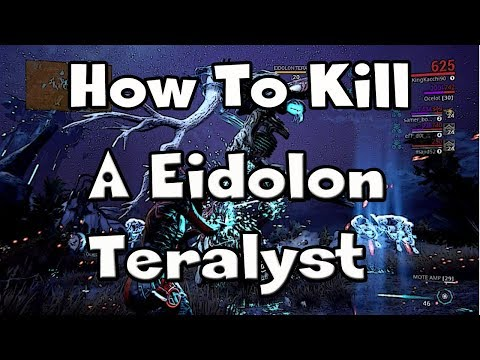 How To Capture An Eidolon Warframe Doovi