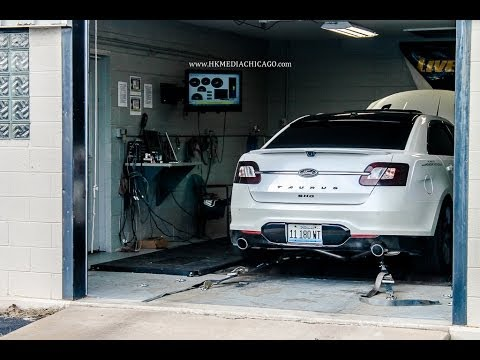 HKMediaChicago | Livernois Motorsports' tuned 2010 Ford Taurus SHO - (bonus clip at the end!)