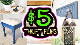 5 Extremely EASY DIY Room Decor Thrift Flips