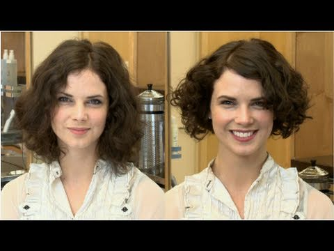 Get A Great Hairstyle For An Oval Shaped Face With Curly Hair Youtube